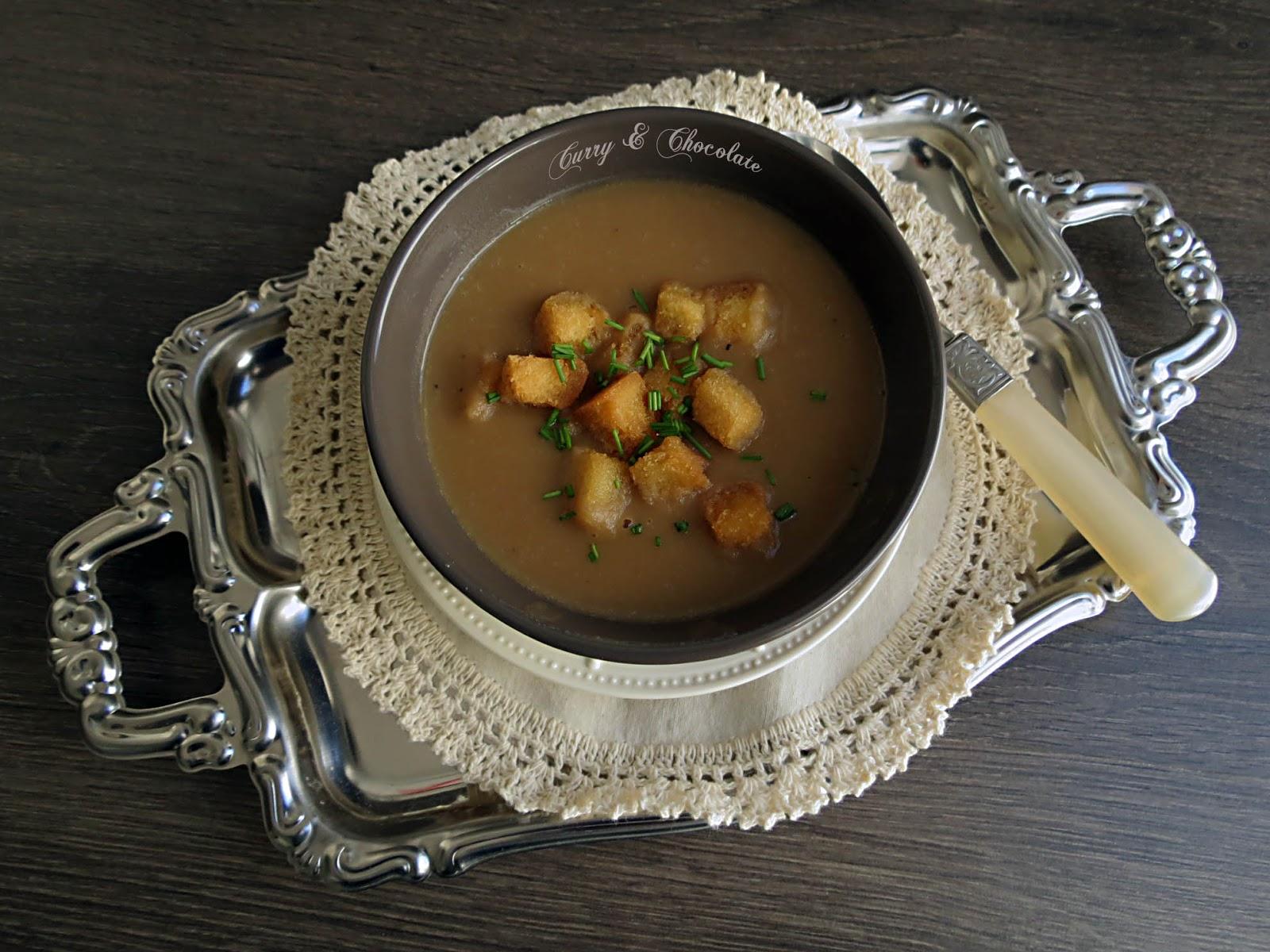 Crema de calabaza al aroma de Oporto – Pumpkin soup with Porto