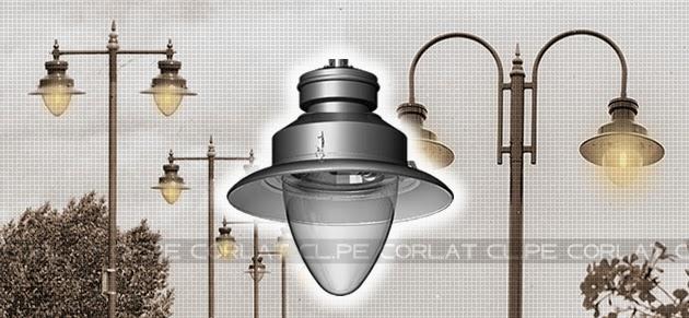 Luminarias Iluminacion Decorativa Exterior Publica Peru