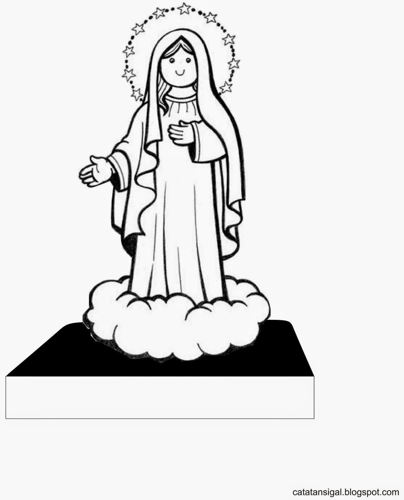 Catatan SiGal Bahan Kreativitas Sekolah Minggu Hari Raya Maria