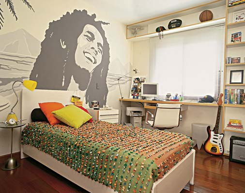 DORMITORIO RASTA RASTAFARI BOB MARLEY BEDROOM by dormitorios.