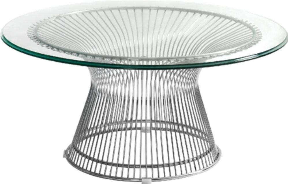 Santana Series Glass Coffee Table by Woodstock