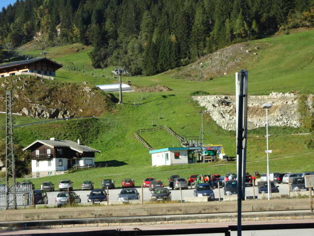 Ski Chairlift at Bad Gastein