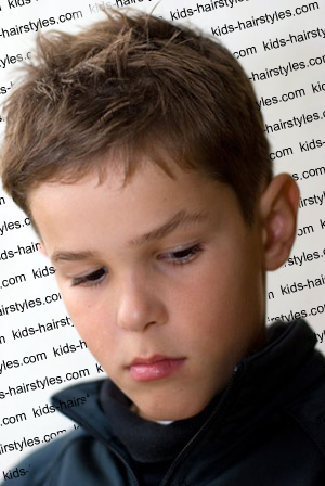 hairstyle is considered as a sculpture simple boy haircut boys spiky