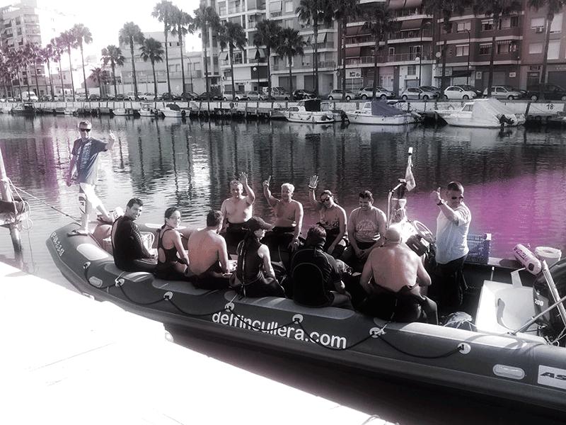 Inmersión en Cardenas - Cullera