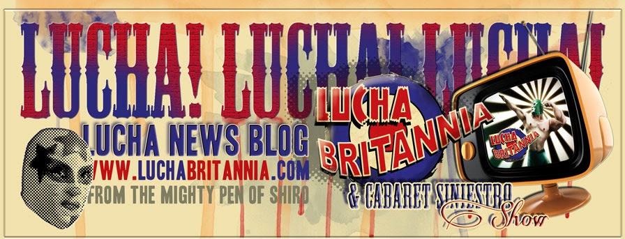 Lucha Britannia! Masked Wrestling Cabaret Siniestro Neo Burlesque London!