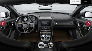 2014 Jaguar F-Type Convertible Interior Design