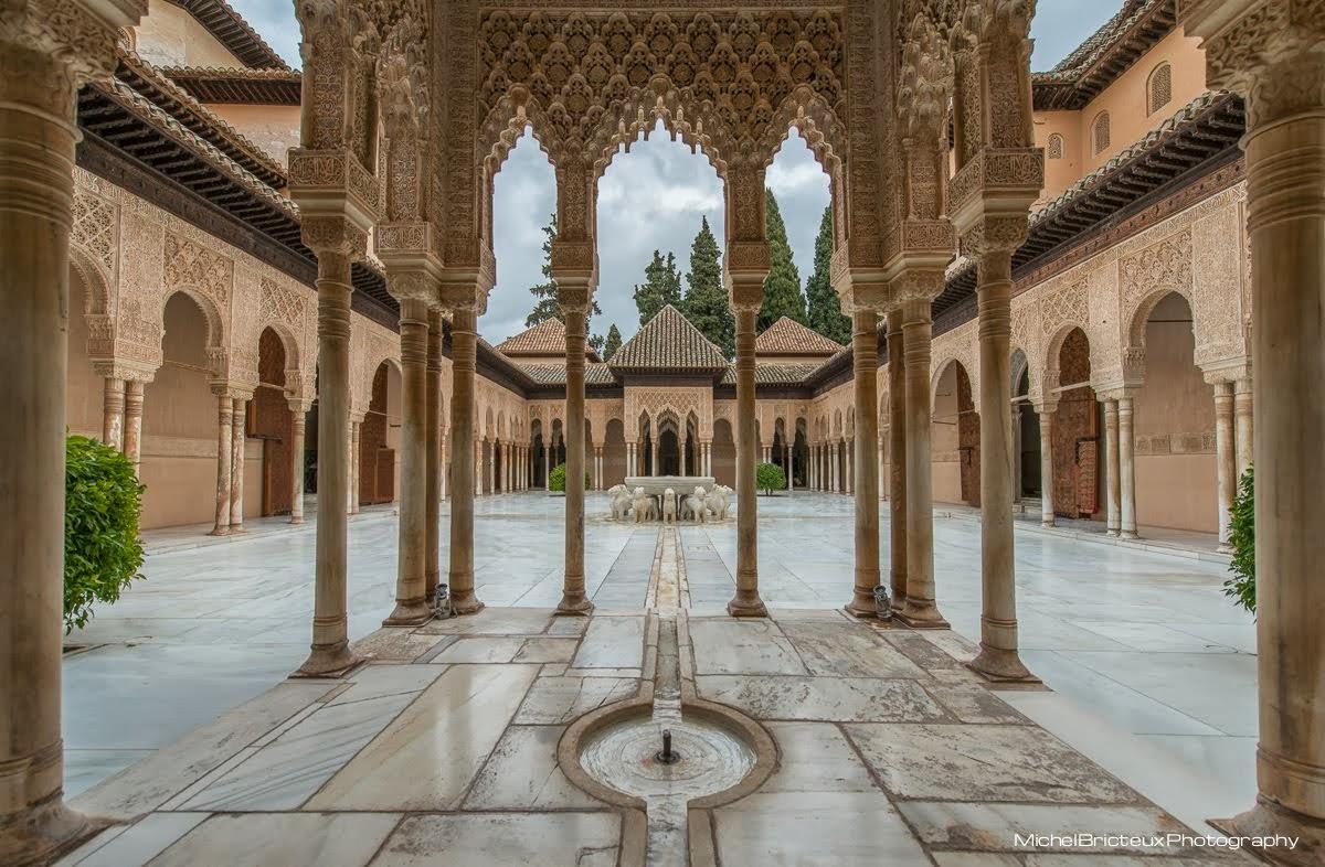 Patio de los Leones, Alhambra de Granada