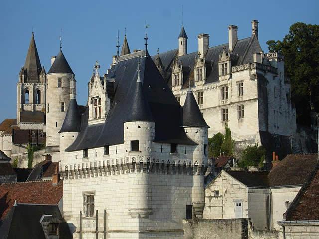 Loches, Indre-et-Loire, França, France