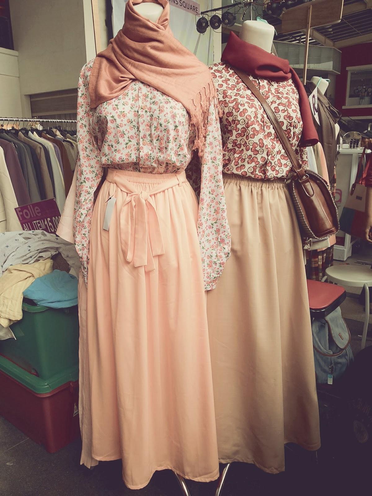 Model Rok Panjang Muslimah Hijabers Bahan Sifon