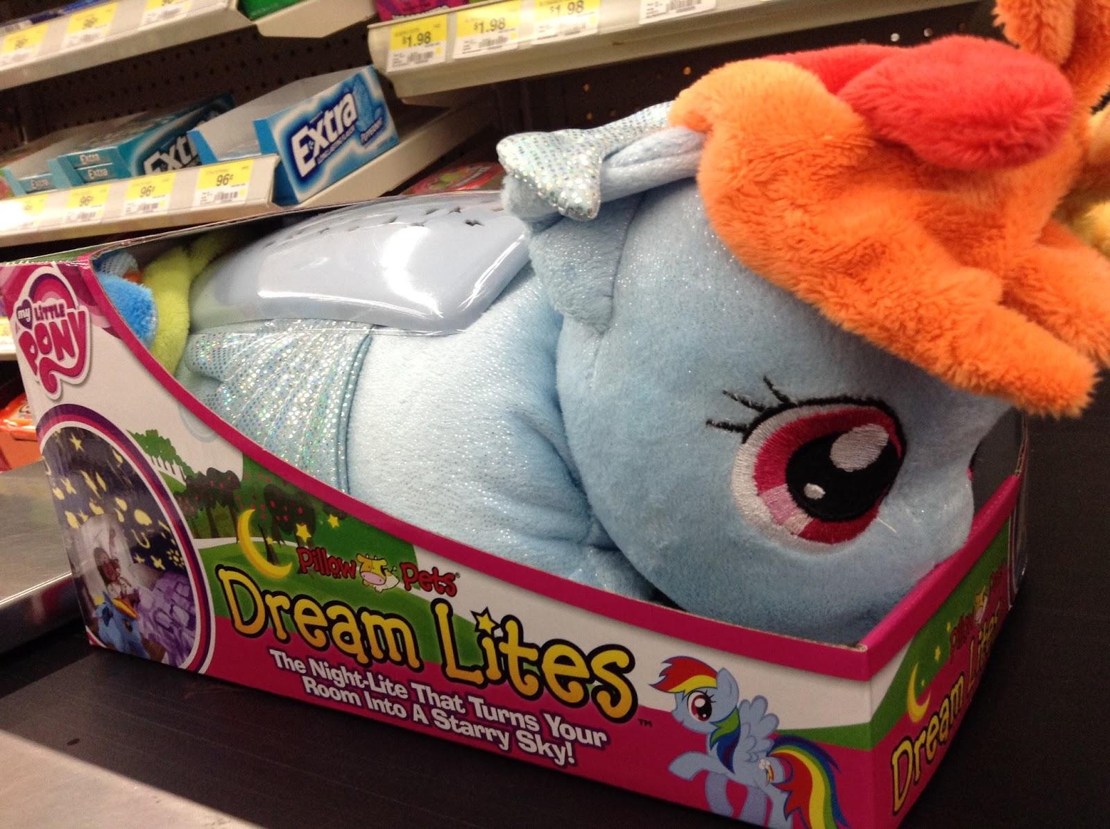 MLP Pillow Pets Dream Lites Found