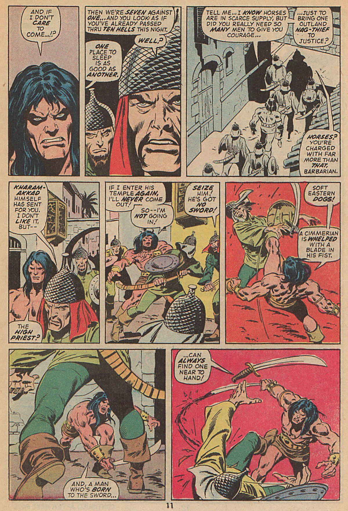 Conan the Barbarian (1970) Issue #25 #37 - English 9