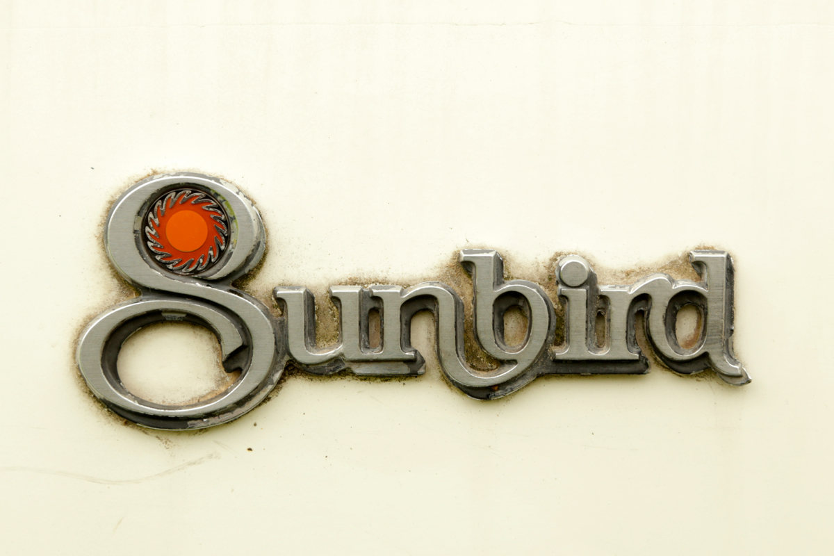 1980 Pontiac Sunbird badge