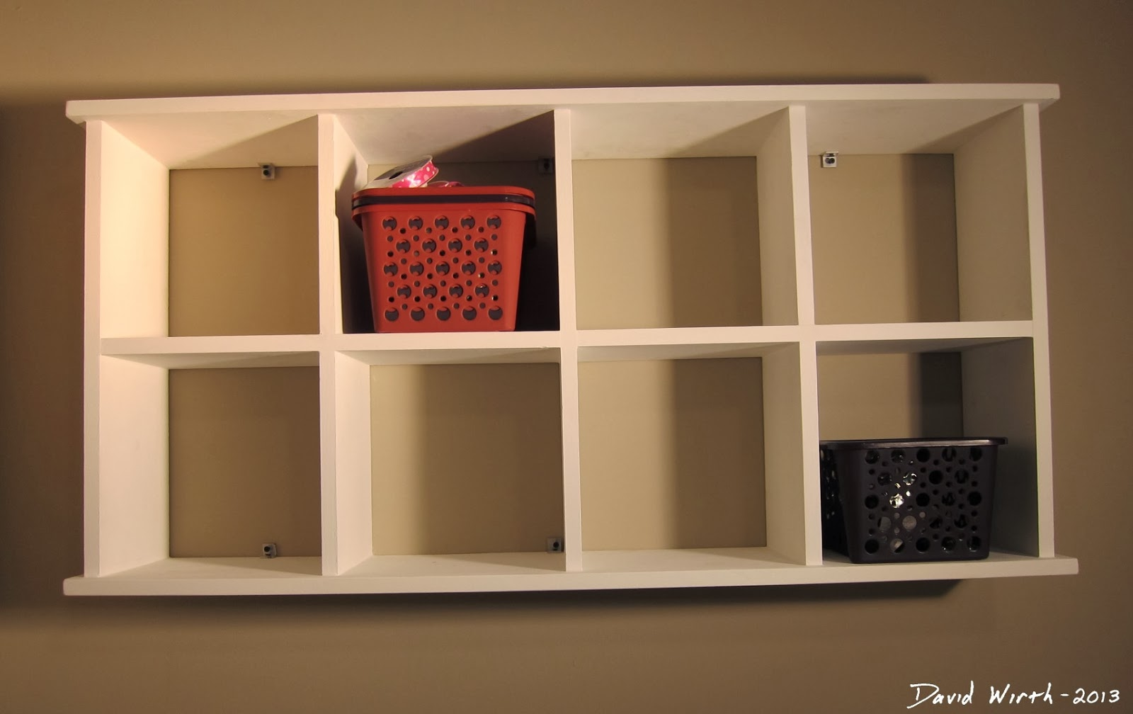 Arts and crafts room ribbon rack shelf desk clean and simple wall shelf mount to wall stud finder amipublicfo Gallery