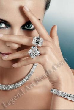 graff white diamond set