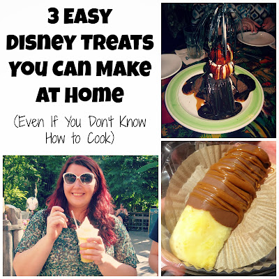 3 Easy Disney Treats you can make at home