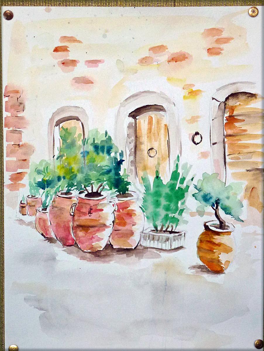 Art de vivre la peinture de peintrefiguratif peinture for Peinture du liberon