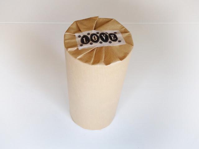 envolver un objeto en forma de cilindro