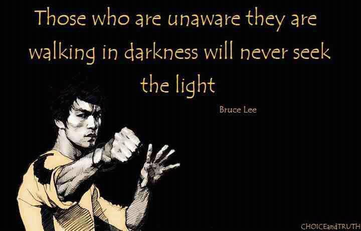 Bruce Lee Quotes On Fi...