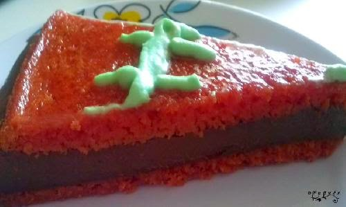 Tarta, tarta de calabaza, chocolate, postres fáciles