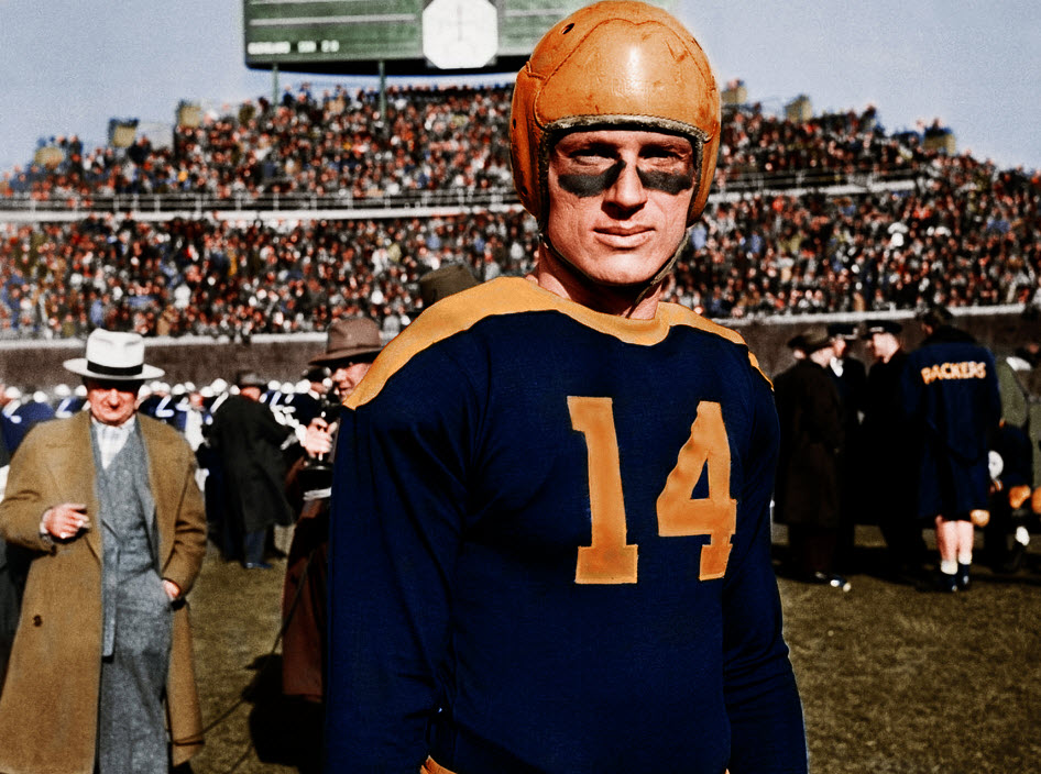 Image result for don hutson packers