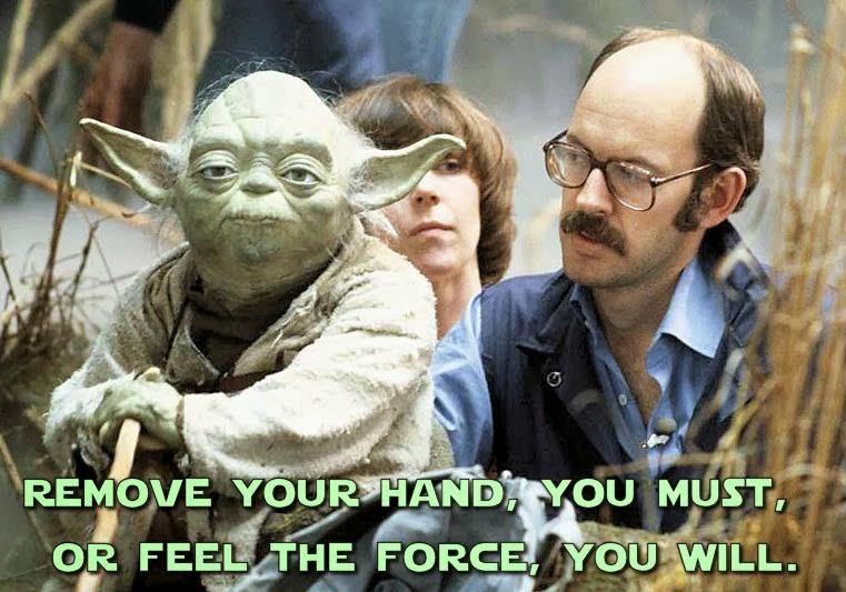 Frank Oz and Yoda