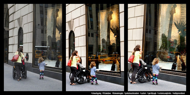 Mom, Grams, I Want to Grow up to be Just Like Her! #BGWindows, Bergdorf Goodman, NYC