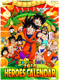 Calendar 2014 Dragon Ball Heroes