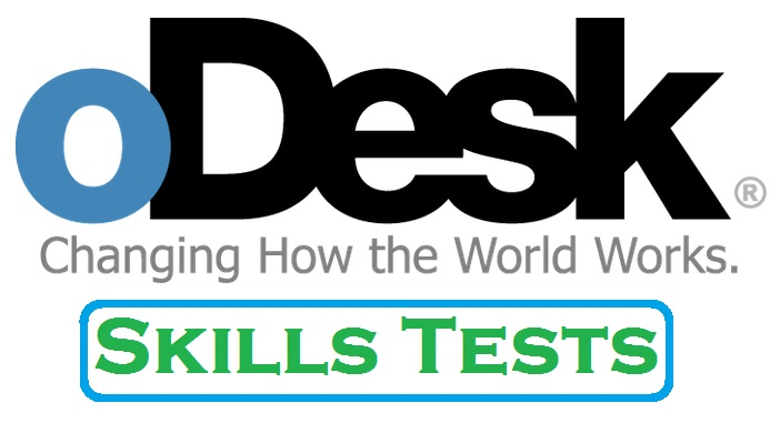 Secrets to make money online odesk tests very helpful for How contractors make money