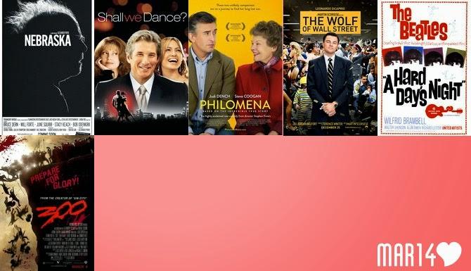 filmes março 2014