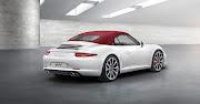 2012 Porsche 911 Carrera Cabriolet price $97,300