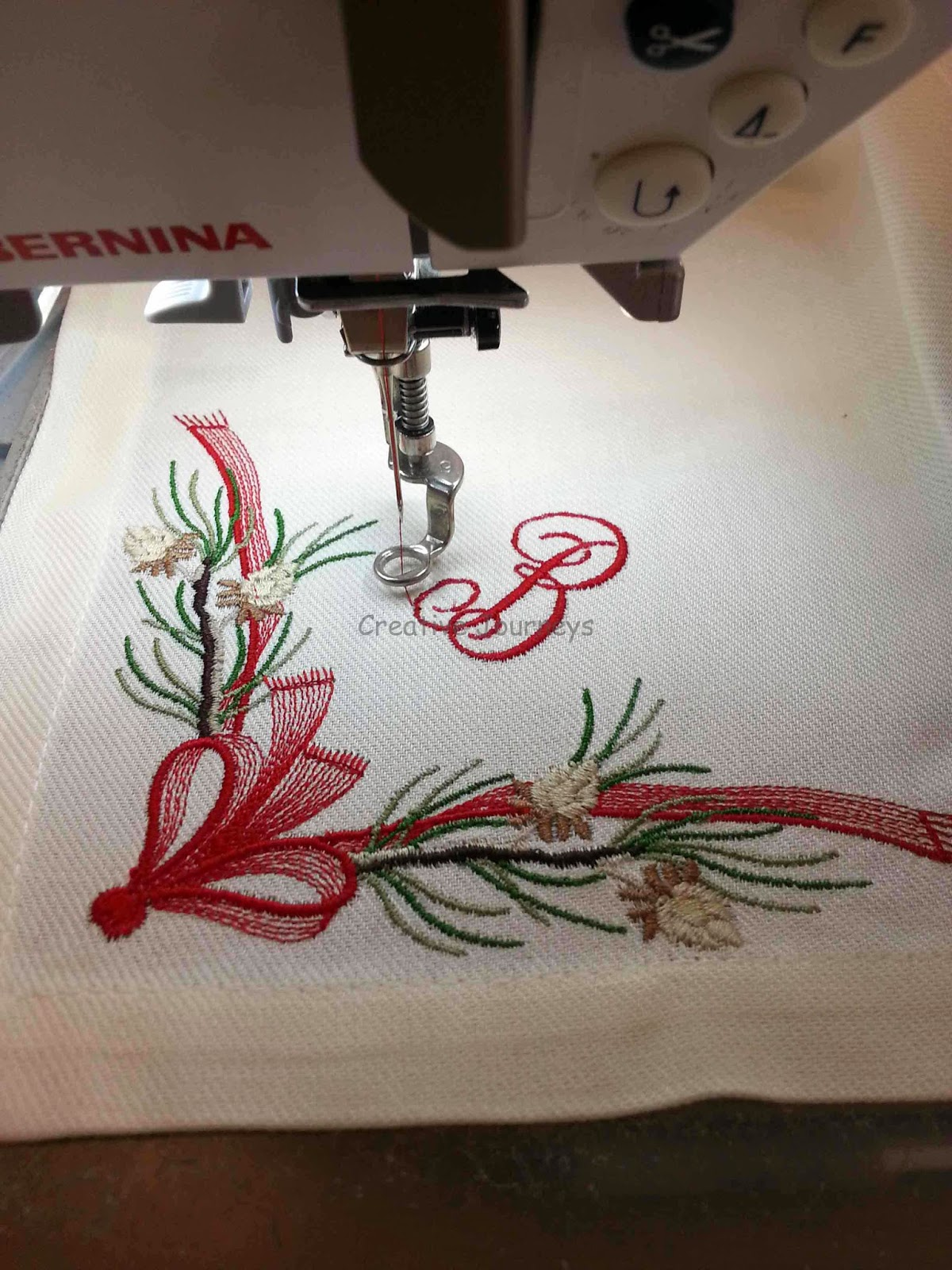 Creative Journeys Easy Embroidery  How To Embroider Napkins