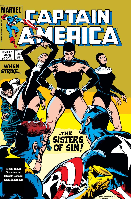 Captain America (1968) Issue #295 #223 - English 1