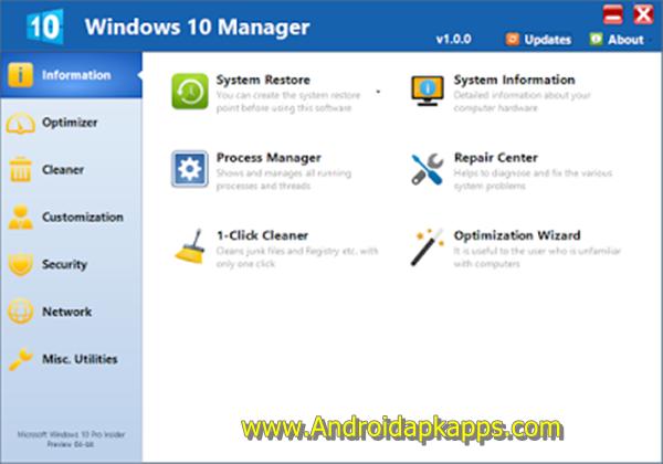 Free Download Yamicsoft Windows 10 Manager 1.0.0 Full Crack Terbaru 2015