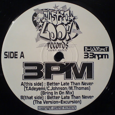 3PM ‎– Better Late Than Never (1991, UK)