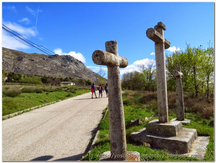 Donde Acaba el vía crucis empieza la vía pecuaria