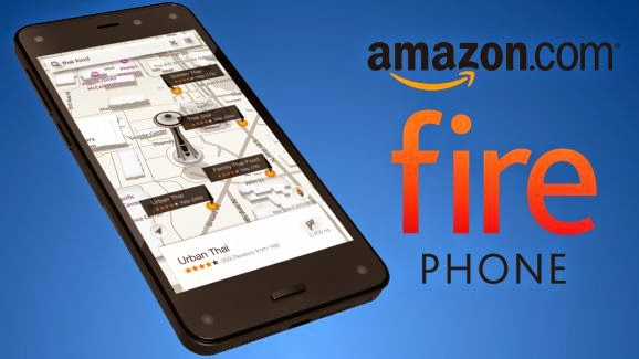 Amazon Fire Phone -   The only smartphone with Dynamic Perspective