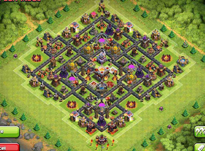 Base Farming Design 2016 TH11