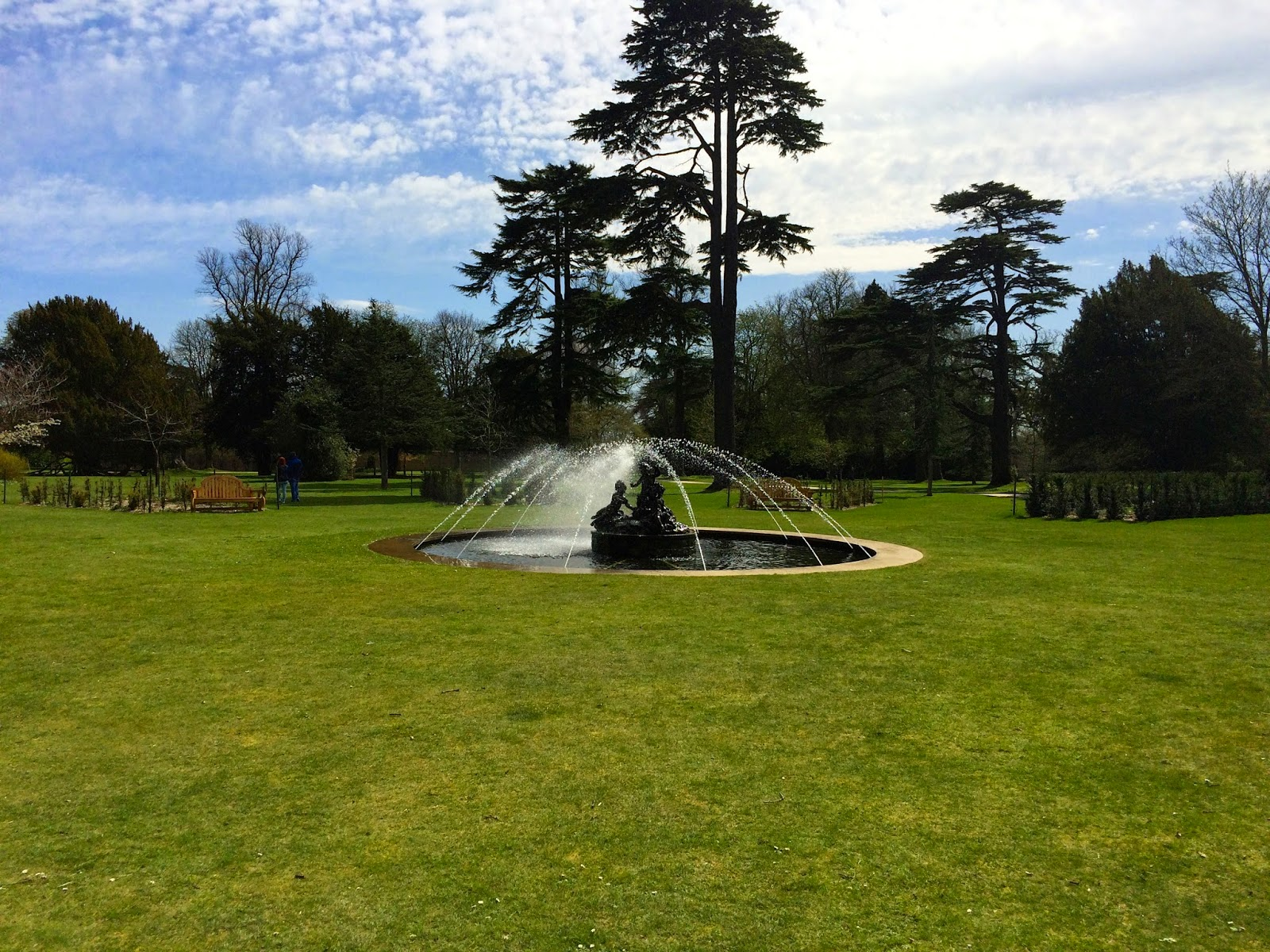 Fountain in the Palace Gardens
