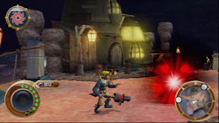 Jak and Daxter The Lost Frontier Psp Game, Gameplay Photo