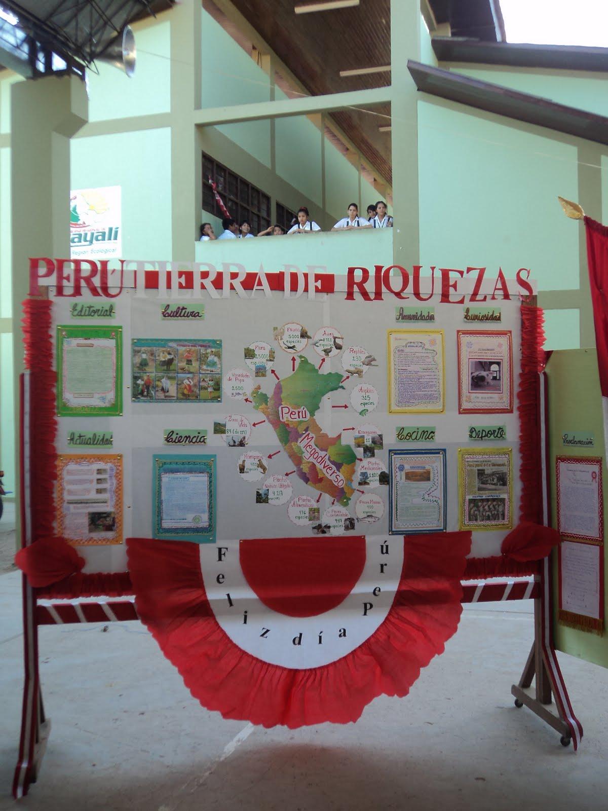 La verdad es una fortaleciendo los valores civicos for Diario mural fiestas patrias chile