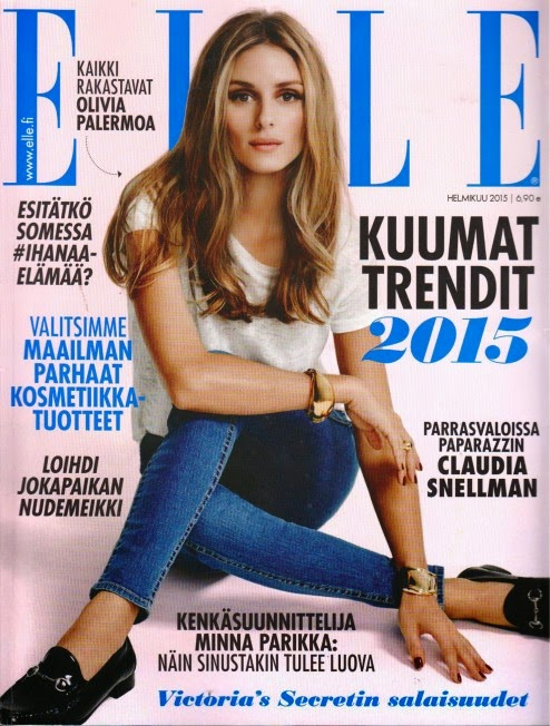 Socialite, Model, Actress: Olivia Palermo for Elle Magazine Finland