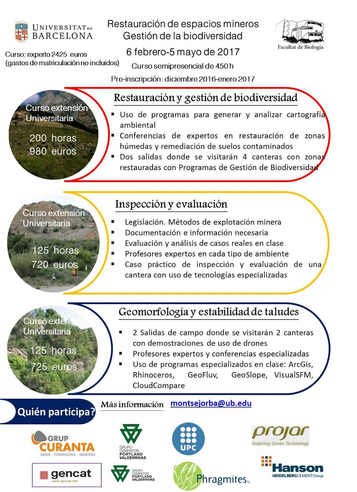 CURSOS DE POSTGRADO 2016-2017