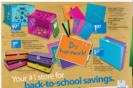 Back to school deals at walmart you can see more bargains on the back