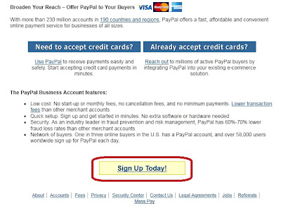 Create a PayPal Account For Free