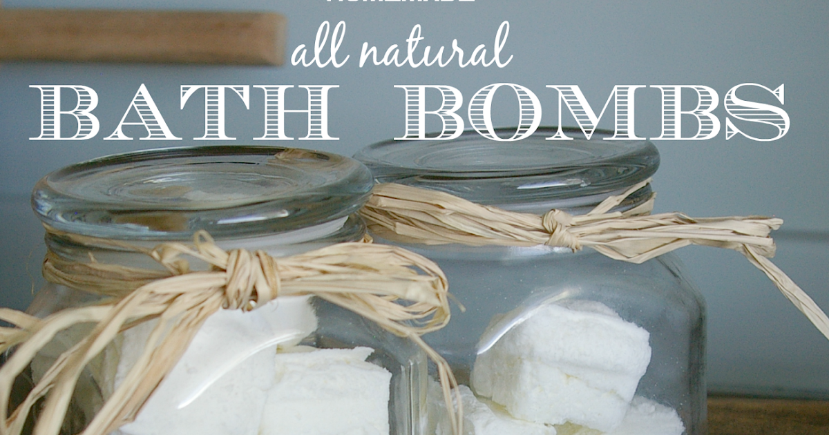 Homemade Bath Fizzies {perfect for congestion and sore throats}