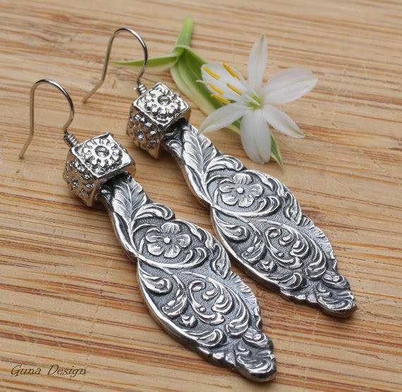 gunadesign guna andersone earrings spoon