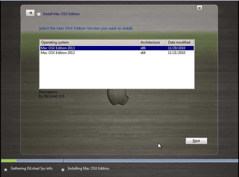 Windows 7 Ultimate SP1 Mac Osx X86 & X64 Supported