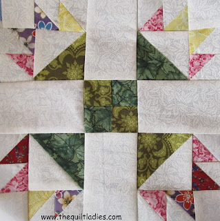 quilt pattern tutorial Duck's Foot in the Mud