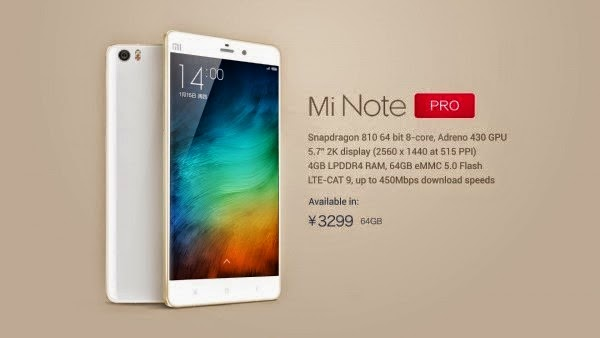 Kelebihan dan kelemahan Xiaomi Mi Note Pro