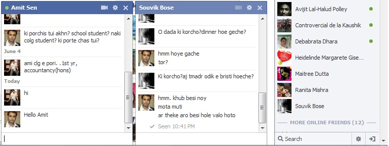 facebook chat win 8